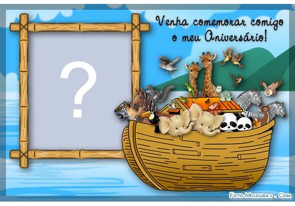 Convite De Aniversario Arca De Noe » Happy Birthday World