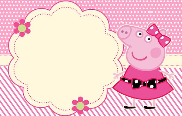 Convite De Aniversario Da Peppa Pig » Happy Birthday World