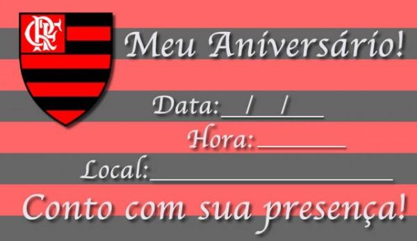 Convite De Aniversario Flamengo » Happy Birthday World