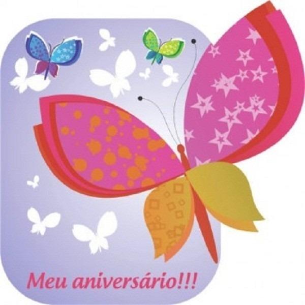 Convite De Aniversário Infantil Tema Borboleta