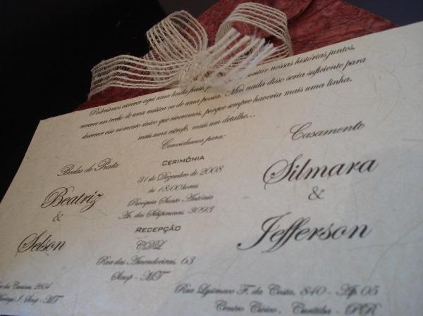 Resultado De Imagem Para Convite Casamento Duplo