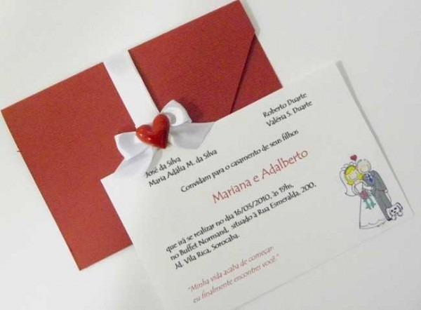 Convite Bonito Para Casamento Civil