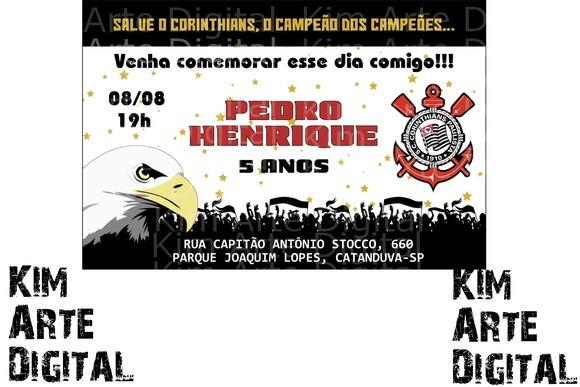 Convite Corinthians