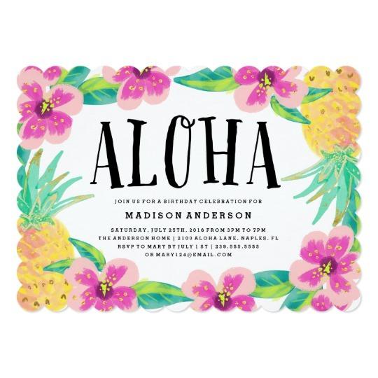 Festa Tropical E Festa Havaiana