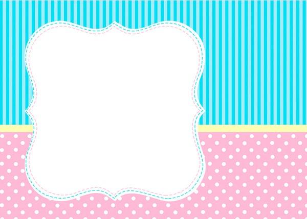 Kit Personalizado Azul E Rosa