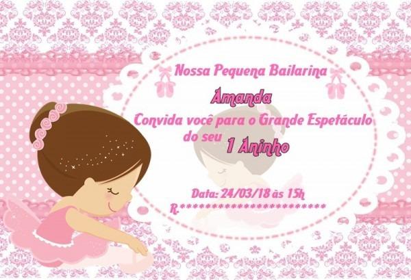 Convite Personalizado Online + Brinde