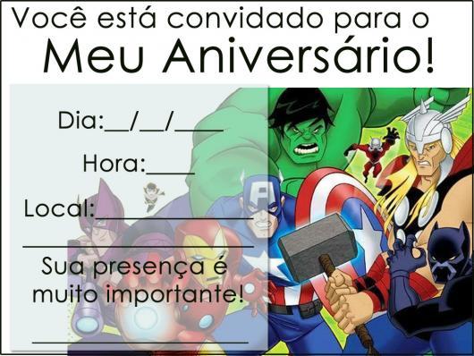 Festa Dos Vingadores