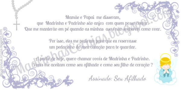 Madrinhas Corujas  Convites Para Ser Madrinha E Padrinho