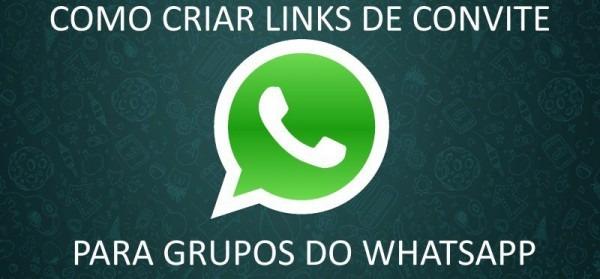 Como Criar Link De Convite Para Grupos Do Whatsapp