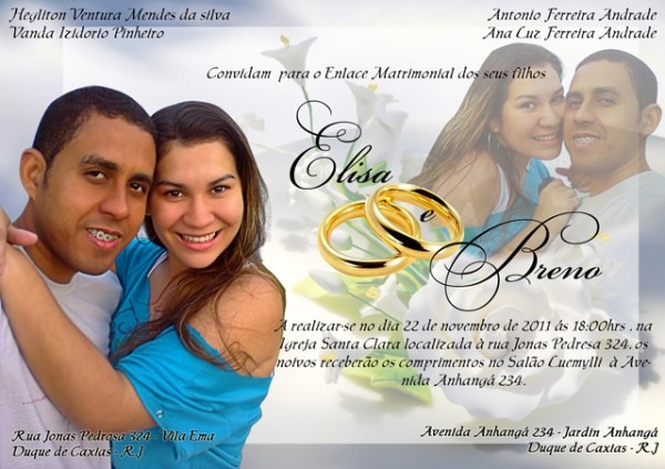 Dkk Fotomontagens  Convites Casamento