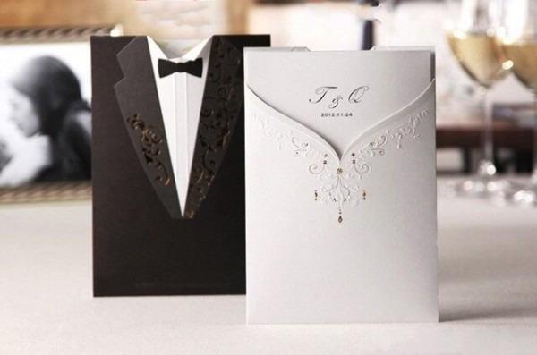 Design Personalizado De Corte A Laser Convites De Casamento