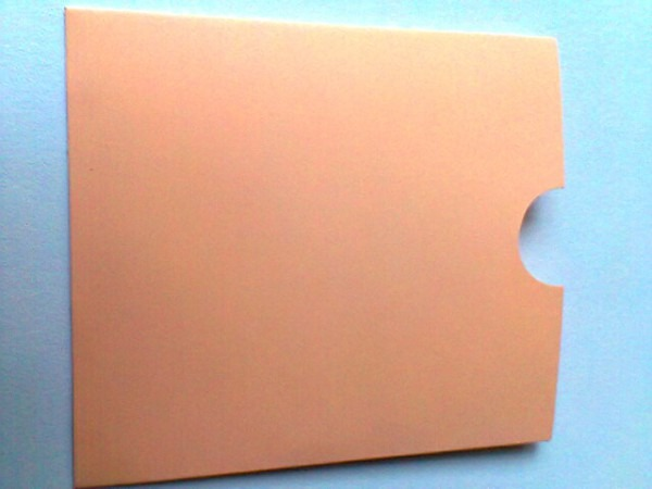 Envelope Topo Luva