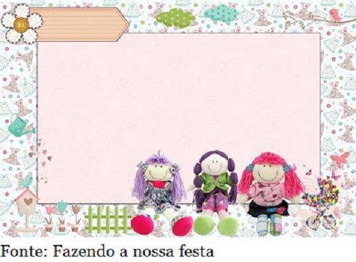 Festa Das Bonecas Infantil  Faça A Sua!
