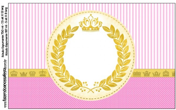 Kit Completo Digital Coroa De Princesa!