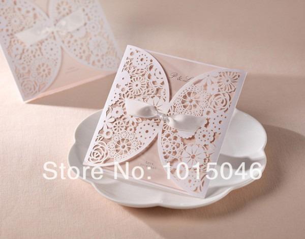 Frete Grátis 20x Cartão Customizável Do Convite Do Casamento De