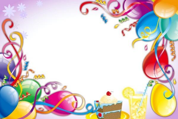 Fundo Para Convite De Aniversario » Happy Birthday World