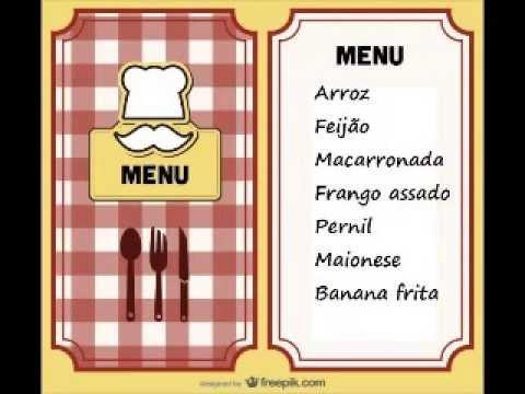 Convite Almoço