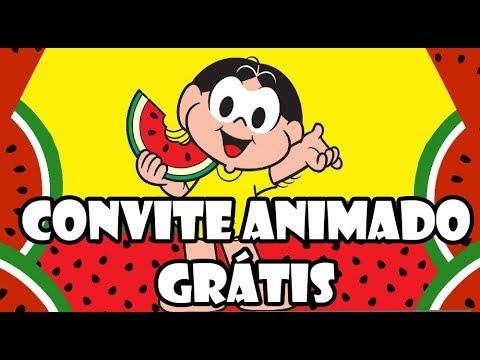 Convite Virtual Magali Grátis