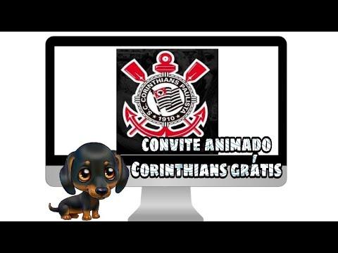 Convite Animado Corinthians GrÁtis
