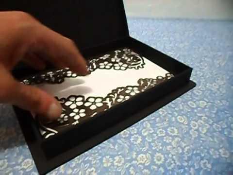 Convite Box 20x14cm