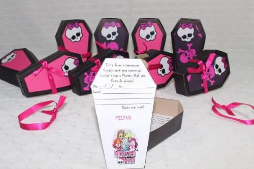 Kit Decoração De Festa Monster High