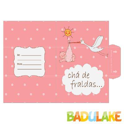 Convites De Cha De Bebe