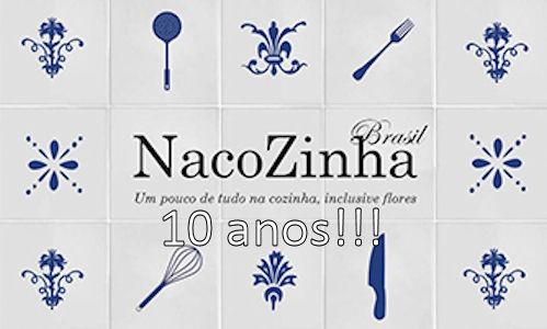 Convite De Aniversário Do Blog Nacozinha Brasil