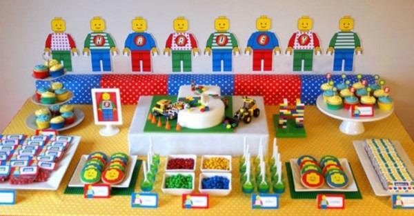 Monte Uma Festa De Aniversário Incrível Com Lego