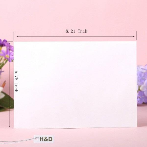 Mimi 60 Pcs Janela Envelopes Do Convite De Casamento De Papel Em