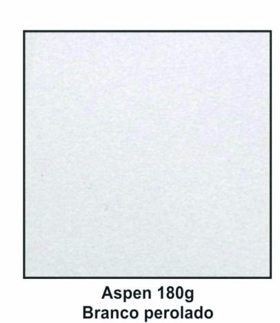 Papel Para Convites Branco Perolado Aspen 180g A4 125 Fls