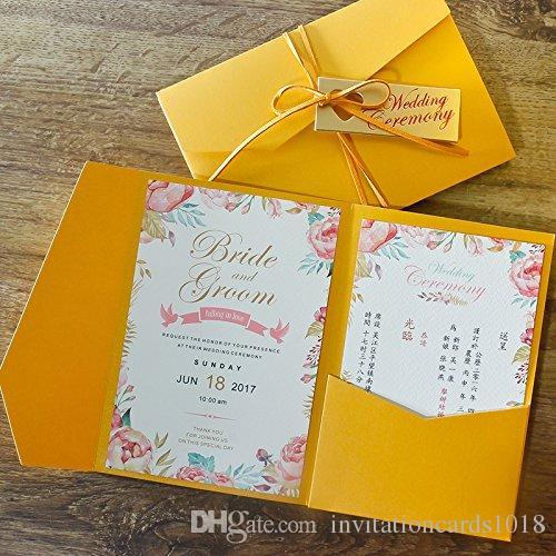 Fontes Para Convite De Casamento Novo Frete Grátis Amarelo Cartões