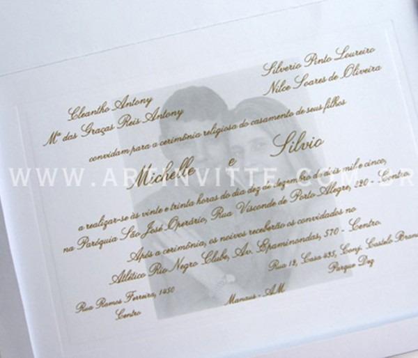 Convite De Casamento Toronto Tt 014