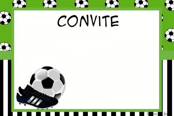 Set De Fútbol  Imprimibles Para Fiestas, Invitaciones Y Cajas Para