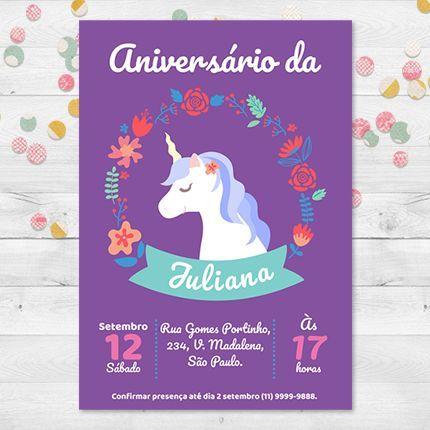 Resultado De Imagem Para Festa 13 Anos Unicornio Copo Long Drink