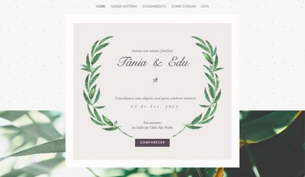 Templates Em Html Para Casamentos E Celebrações