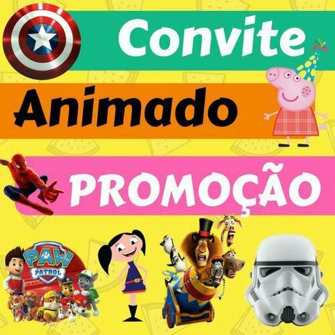 Convite Animado(vídeo Convite)