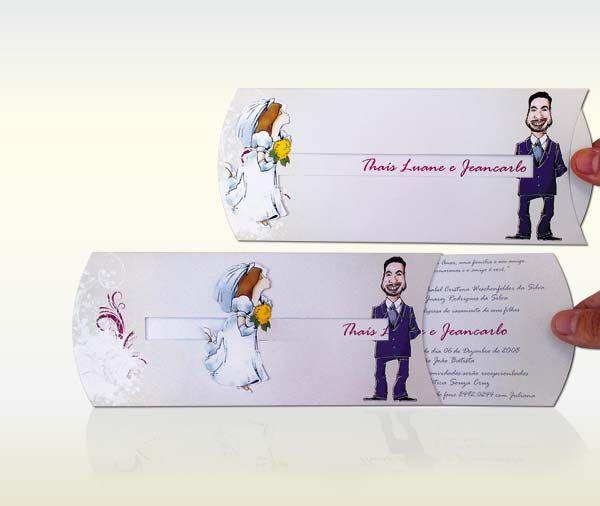 Modelos De Convites De Casamentos Diferentes ( Foto  Divulgação