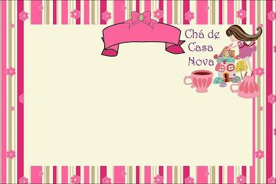 Chá De Casa Nova