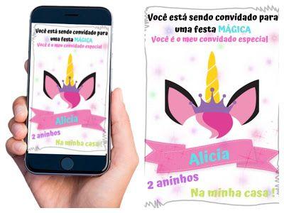 Como Fazer Convite Virtual Gratis Para Whatsapp Como Fazer Convite