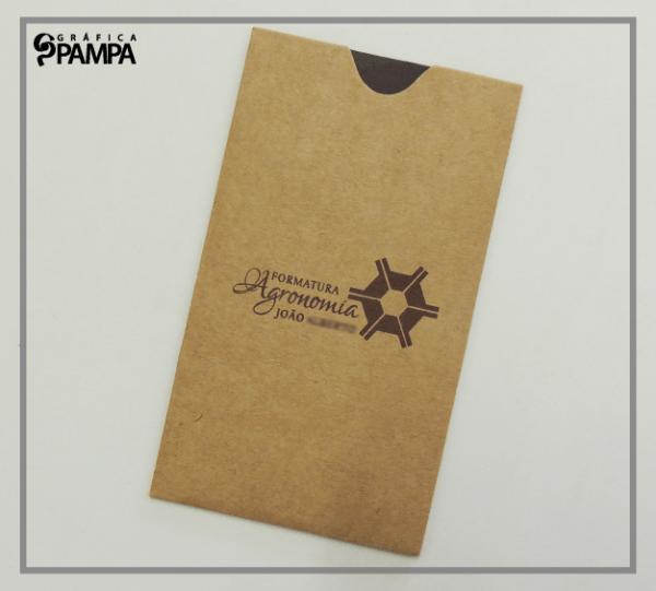 Convite Formatura Agronomia Ja – Gráfica Pampa