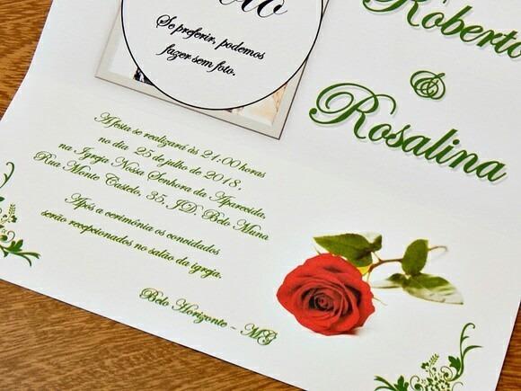 50 Convite Bodas Esmeraldas