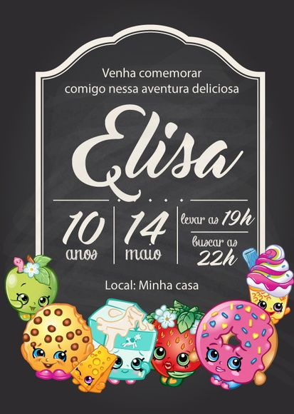 Pin De Compra Festa Em Convite Virtual