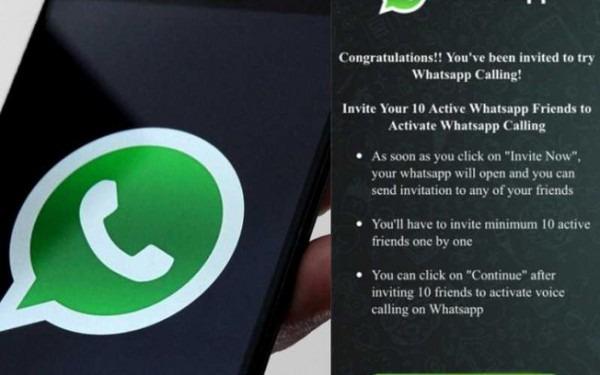 Recurso De Chamadas Telefônicas Do Whatsapp Vira Isca Para Golpes
