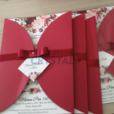 Convites Casamento Personalizados