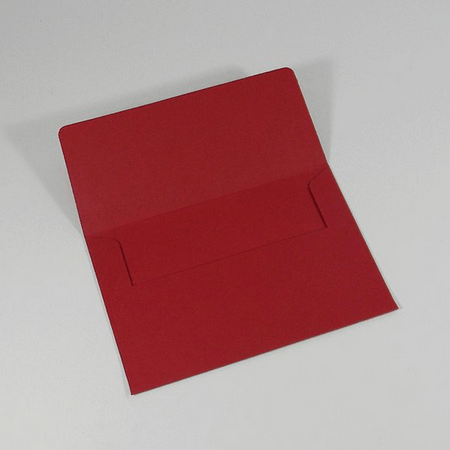 Envelope Para Convite Vermelho Pequim