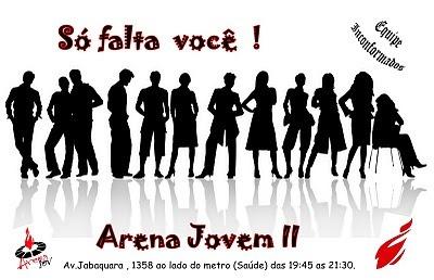 Equipe Jp  Convite Arena Jovem