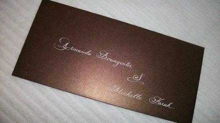 Caneta Especial Caligrafia Para Convites Cor Gel Prata