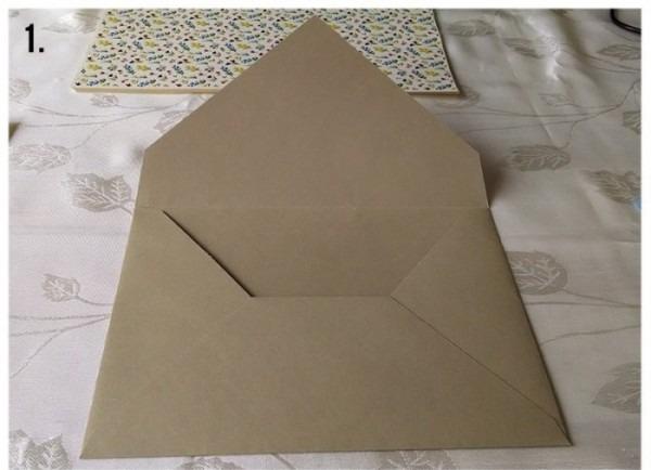 Como Forrar Um Envelope Para Convite De Casamento