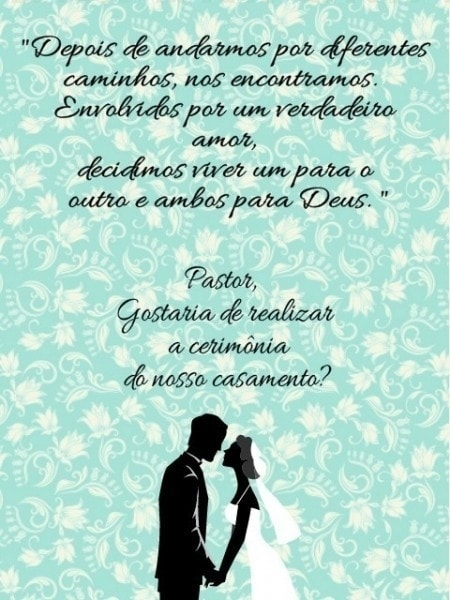 Convite Para Pastor !