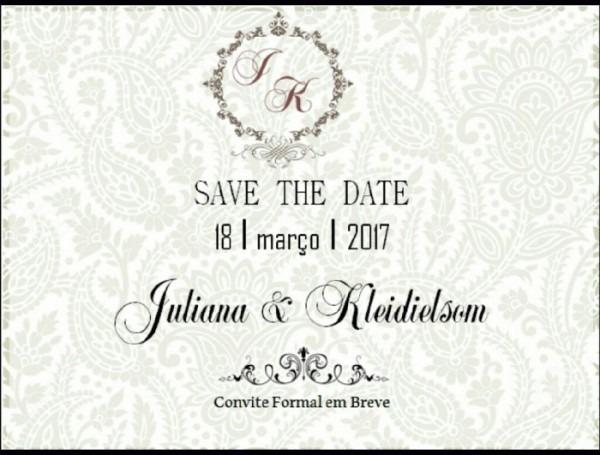 Save The Date (convite Digital)